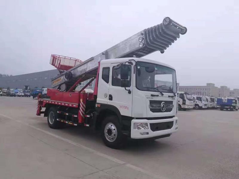 东风D9型38米云梯高空运输车