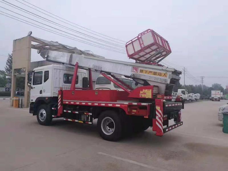 东风D9型45米云梯搬家车
