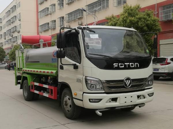 福田4.5方绿化喷洒车