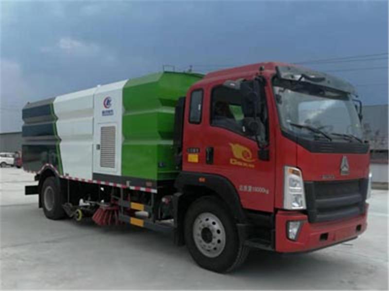 重汽豪沃洗扫车CLW5180TXSZ6