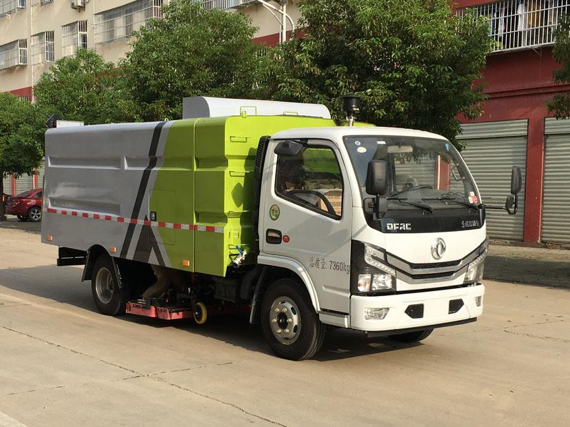 东风D6国六吸尘车CLW5070TXC6