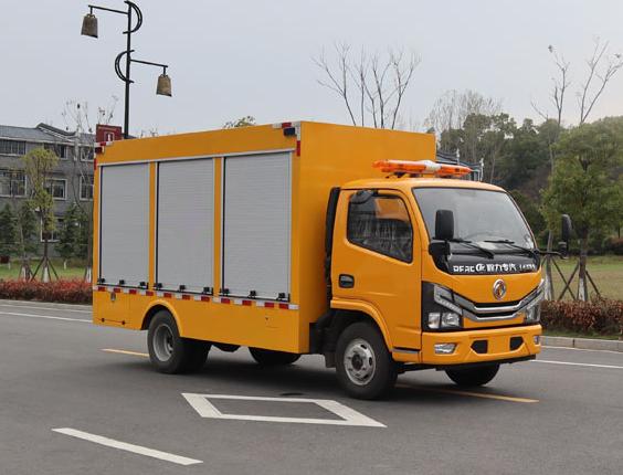 东风多利卡D6单排救险车(蓝牌)